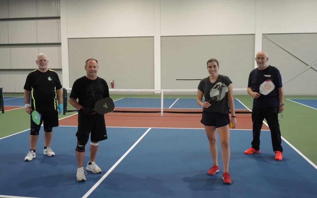 Une championne canadienne de racquetball en visite à Chambly
